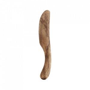 Cutit maro din lemn de mango Chyntia Madam Stoltz