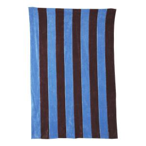 Cuvertura albastra/mov din catifea 150x240 cm Hans HK Living
