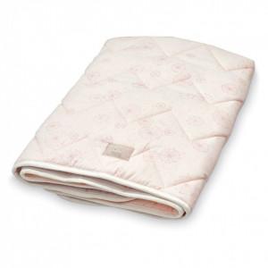 Cuvertura matlasata din bumbac pentru copii 75x95 cm Janey Dandelion Rose Cam Cam