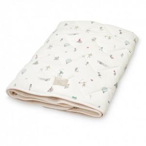 Cuvertura matlasata din bumbac pentru copii 75x95 cm Janey Holiday Cam Cam