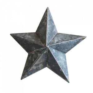 Decoratiune argintie din zinc 24 cm Stellar Raw Materials