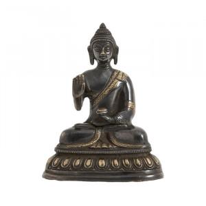 Decoratiune din alama 15 cm Buddha Nordal