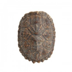 Decoratiune din polirasina maro Turtle Shell HK Living
