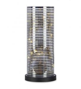 Decoratiune luminoasa LED argintie din sticla Moa Markslojd