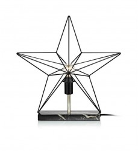 Decoratiune luminoasa neagra din metal Tjusa Mini Markslojd