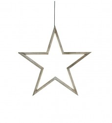 Decoratiune luminoasa suspendabila din metal Polaris Stained Brown Markslojd