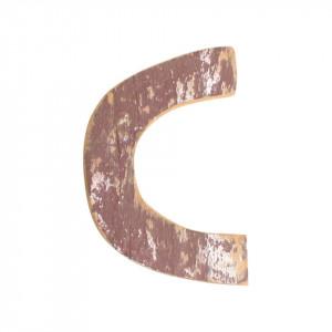 Decoratiune maro din lemn 18 cm C Raw Materials