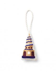 Decoratiune suspendabila multicolora din bumbac Church Ferm Living