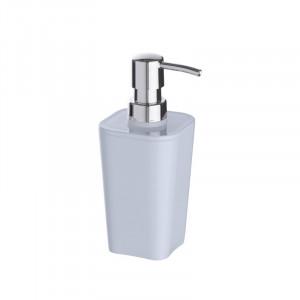 Dispenser alb/argintiu din polistiren 330 ml Candy White Soap Wenko