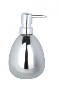 Dispenser argintiu din ceramica 370 ml Polaris Soap Wenko