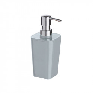Dispenser gri/argintiu din polistiren 330 ml Candy Gray Soap Wenko