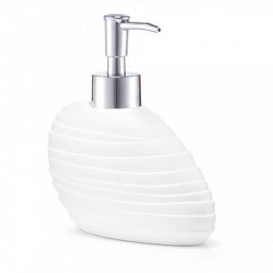 Dispenser sapun lichid alb din polirasina 370 ml Abstract Zeller
