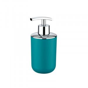 Dispenser sapun lichid albastru petrol din cauciuc termoplastic 320 ml Nabu Wenko