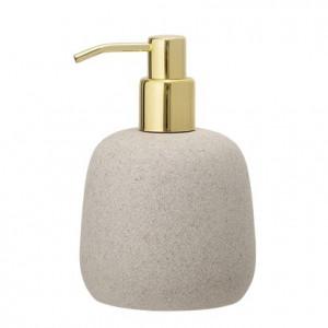 Dispenser sapun lichid gri din rasina 10x15,5 cm Soap Bloomingville