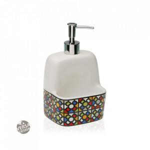 Dispenser sapun lichid multicolor din ceramica 11,2x19 cm Urbana Versa Home