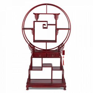 Etajera rosie din lemn de frasin 181 cm It's Tea Time In China Bold Monkey