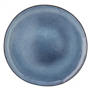 Farfurie albastra din ceramica 28.5 cm Sandrine Bloomingville