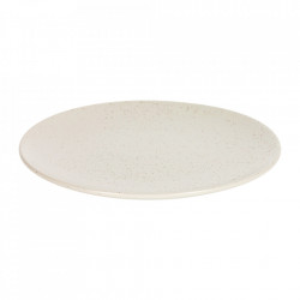 Farfurie intinsa alba din ceramica 27 cm Aratani Kave Home