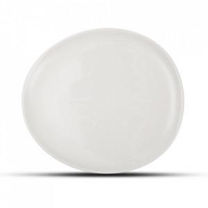 Farfurie intinsa alba din portelan 18,5x21 cm Ceres Fine2Dine