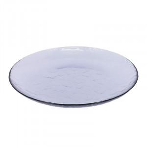 Farfurie mov din sticla 26,3 cm Rori La Forma