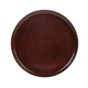 Farfurie rosie din ceramica 26,5 cm Bold and Basic Cerasie HK Living