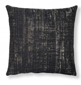 Fata de perna gri inchis din textil 45x45 cm Cuzco Combination Dark Grey La Forma