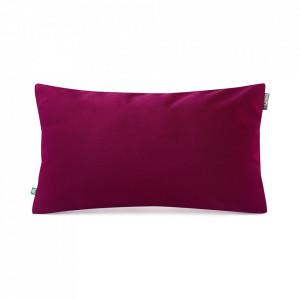 Fata de perna rosu burgund din catifea 30x50 cm Mood Mumla
