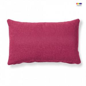Fata de perna rosu burgund din textil 30x50 cm Mak Varese La Forma
