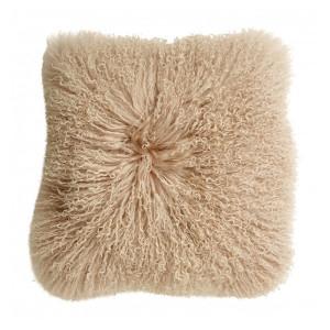 Fata de perna roz deschis din blana de miel 40x40 cm Tibetan Soft Nordal