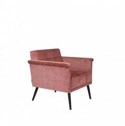 Fotoliu roz din bumbac Sir William Vintage Pink Dutchbone
