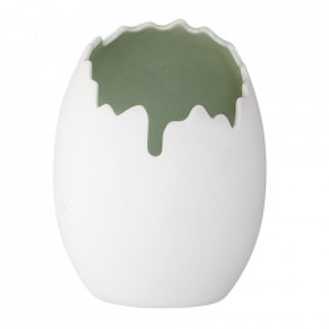 Ghiveci alb din portelan 17 cm Cair Bloomingville