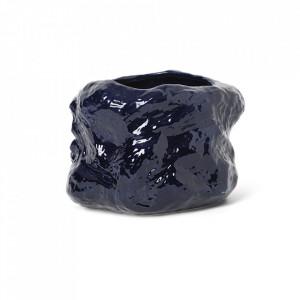 Ghiveci albastru din ceramica 29 cm Tuck Ferm Living