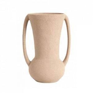 Ghiveci bej nisipiu din ceramica 15,5 cm Eldey Nordal