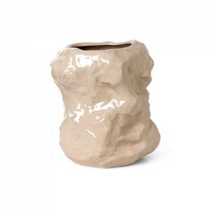 Ghiveci crem din ceramica 34 cm Tuck Cashmere Ferm Living