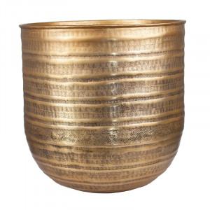Ghiveci maro alama din aluminiu 40 cm Krzysiek Lifestyle Home Collection