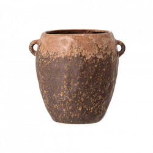 Ghiveci maro din ceramica 16 cm Nenne Bloomingville
