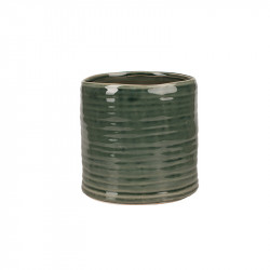 Ghiveci verde din ceramica 17 cm Falk Lifestyle Home Collection
