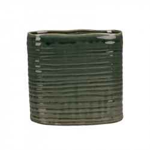Ghiveci verde din ceramica 25 cm Vivek Lifestyle Home Collection