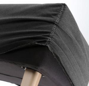 Husa pentru bancheta gri din textil Lydia Graphite La Forma