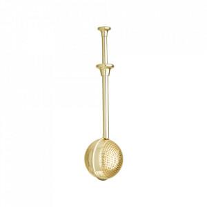 Infuzor auriu din inox pentru ceai Theas Bloomingville