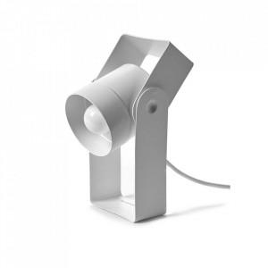 Lampa birou alba din otel 21 cm Macari Serax
