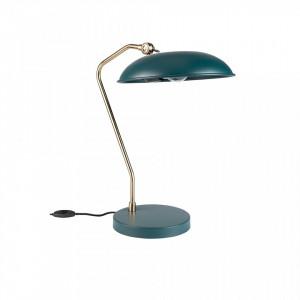 Lampa birou albastra Liam Teal Dutchbone