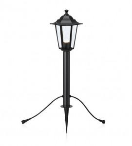 Lampa dimabila neagra din metal si sticla pentru exterior cu LED 73 cm Garden Markslojd