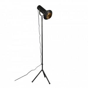 Lampadar ajustabil negru din metal Vox Dutchbone