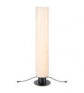 Lampadar dimabil alb/negru din plastic si metal pentru exterior cu LED 110 cm Garden Markslojd