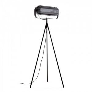 Lampadar negru din metal 147 cm Arete Kave Home