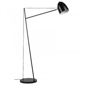 Lampadar negru din metal 160 cm Aller Black Somcasa