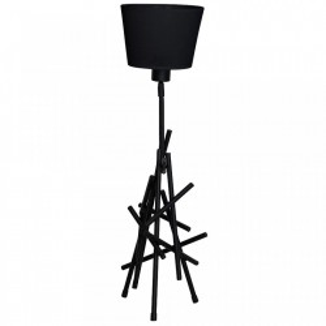 Lampadar negru din metal 162 cm Czart Black Aldex