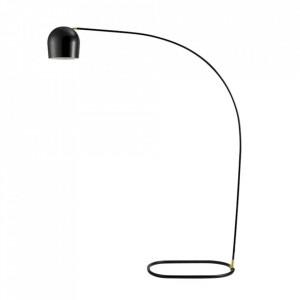 Lampadar negru din otel 205 cm Circle Floor Bolia
