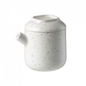 Latiera alba din ceramica 8x10 cm Forma Bolia
